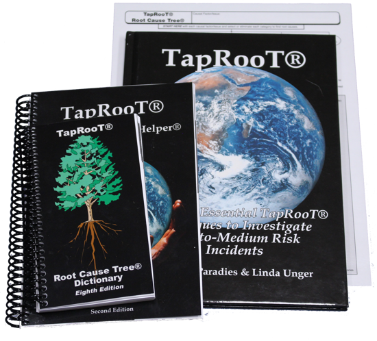 Picture of Book 3 Set: Using the Essential TapRooT® Techniques to Investigate Low-to-Medium Risk Incidents