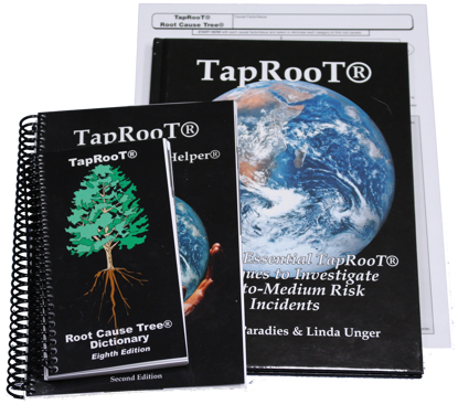 Picture of TapRooT® Investigation Essentials AND Major Investigations Book Set