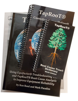 Picture of Book 5: Using Equifactor® Troubleshooting Tools and TapRooT® Root Cause Analysis to Improve Equipment Reliability
